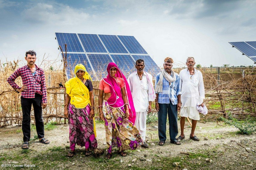 Hoe Een Waterpomp Op Zonne Energie De Familie Mali Vooruit